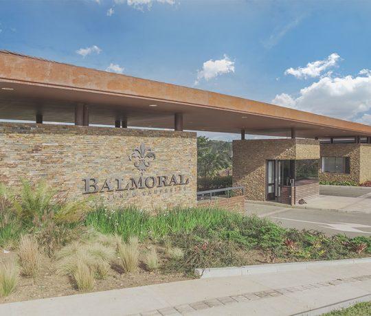 Entrada Balmoral