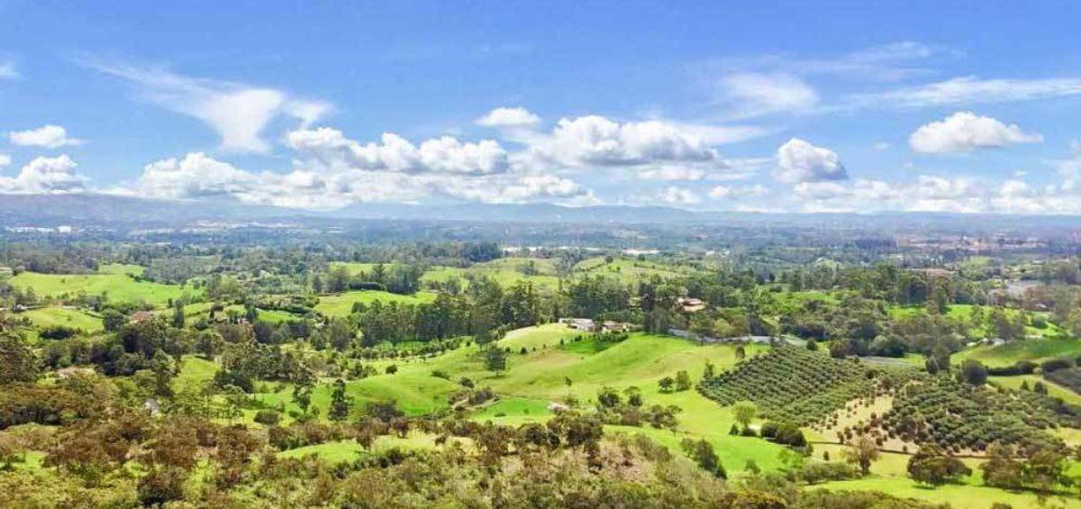 Vista Aérea Llanogrande Hills - Constructora Serving - Servicios de Ingeniería