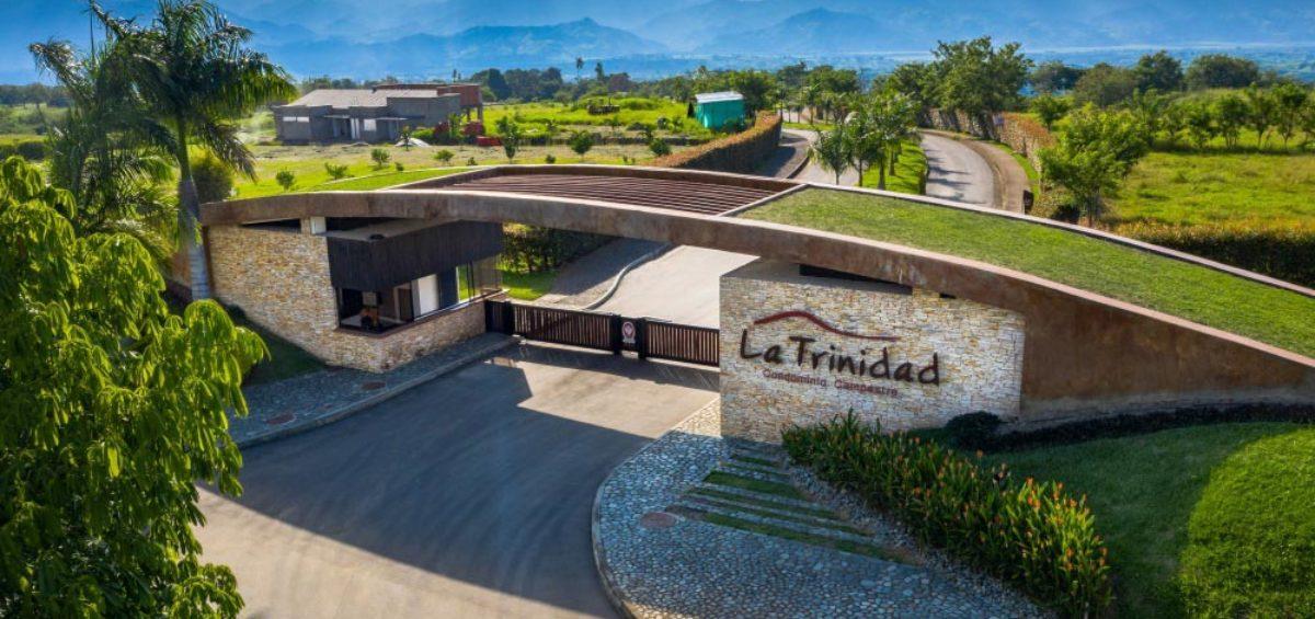 Vista aérea Entrada La Trinidad